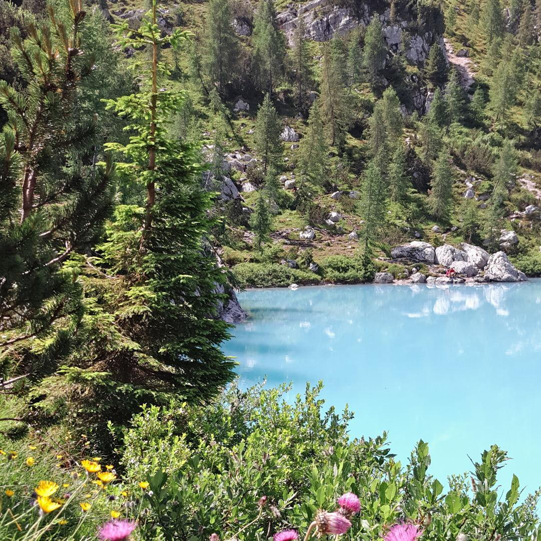 Lago del Sorapiss - Cortina d'Ampezzo - #Dolomites - #Italie #NoFilter